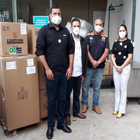 Secretaria Estadual de Saúde envia mais respiradores para Ipatinga